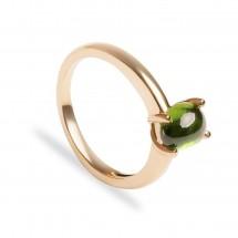 кольцо с демантоидом